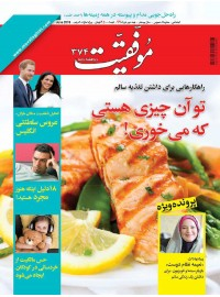 مجله موفقیت شماره 374( نیمه دوم خرداد96)